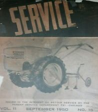 David Bradley Garden Tractor & Implements Dealer Service Manual 36p db VERY RARE