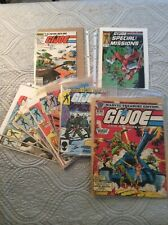 G.I. Joe ARAH Marvel Comics lot of 11 Marvel Treasury Edition 1st issue + others
