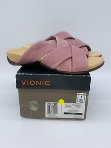 Vionic Women's Juno Slide Sandals Dusk US 5 EUR 36