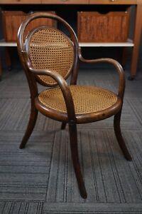 Antique 1800s Jacob & Josef Kohn Beach Bentwood Bistro Child's Chair