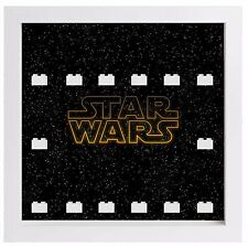 Lego Minifigura Vitrina Marco logotipo de Star Wars Minifiguras