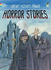 Coloring Books For Adults Monsters Horror Scary Creative Design Relieving Stress