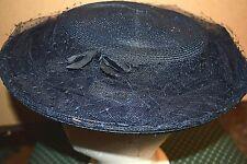 Vintage Wieboldt's Woman's Blue Hat