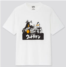 NWT Ultraman Japanese White T-Shirt Mens XL sci-fi japan anime manga