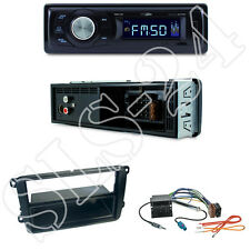 Caliber RMD021 Autoradio + Skoda Octavia II Rapid Radioblende + ISO Adapter Set