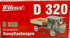 Wilesco Dampflastwagen  D320 Ferngesteuerter Dampflastwagen