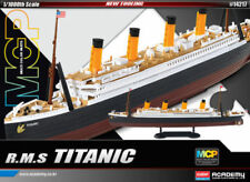 Scale 1/1000 Size R.M.S Titanic Ship Figure MCP #14217 Academy Hobby Kits_Mc