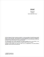 Doosan DX30Z Track Excavator Shop Manual (0250)