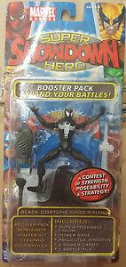 """Toybiz Marvel Legends: Showdown - Black Costume Spider-man 3.75"""" Figure"""