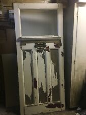 Victorian / Edwardian Front Door Large Antique Reclaimed Restoration