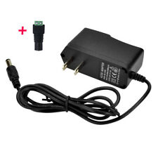 US Power Supply AC 100-240V To DC 12V 1A Adapter For LED Strip Light CCTV Camera