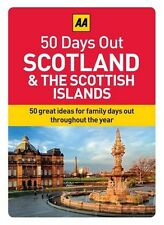 50 GREAT FAMILY DAYS OUT - SCOTLAND & THE SCOTTISH ISLANDS - BOXED INFO CARDS