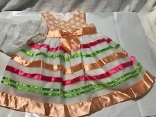 Bonnie Baby Party Dress Occasion Easter Girl 12 Months Sring/Summer Colors