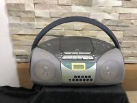 Sony CFD 5400L boombox Cd Radio Cassette Tape Stereo Player