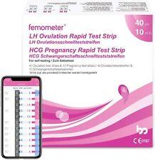40 Tests d'Ovulation en Bandelette + 10 Tests de Grossesse Bandelettes precis