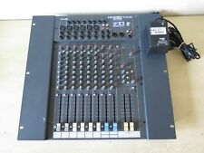 More details for soundcraft spirit folio f1 14/2 rack-mountable 14-channel mixer / works well