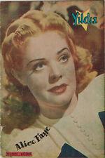 Yildiz Turkish Magazine - 1941 - 100% ALICE FAYE - 36 pages