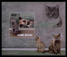 GUINEA-BISSAU EPREUVE DE LUXE KATZEN KATZE CATS CAT CHAT GATO DELUXE SHEET dr52