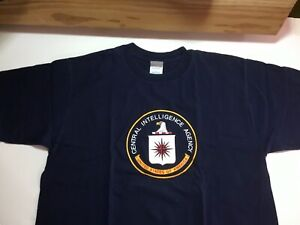 Central Intelligence Agency Langley, VA (yes the C.I.A.!!) LARGE T Shirt NEW