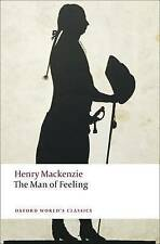 The Man of Feeling (Oxford World's Classics), Good Condition Book, Henry Mackenz