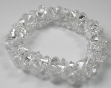 Bridal Stretch Bracelet  Masses of Clear CZ Statement Handmade Wedding