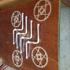 Chrome bicycle chain ring columbia sprockets mint unused 26 inch bike