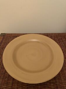 "TAG Round Yellow 14"" Serving Platter"