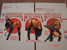 Double Impacts Butt Shots. NM/M condition. 3 comics total. VHTF.