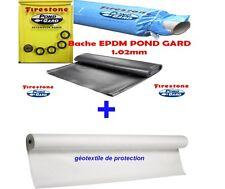 Bâche EPDM Firestone 6,10m+ géotextile
