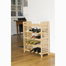 Weinregal für 25 Flaschen Regal aus Holz 64 cm x 76 cm x 25 cm Wein Holzregal
