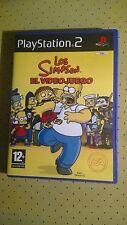 Juego Sony PlayStation 2 PS2 Los Simpson El VideoJuego EA Video PAL