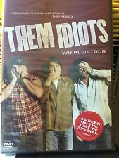 THEM IDIOTS: WHIRLED TOUR DVD JEFF FOXWORTHY/BILL ENGVALL LARRY CABLE GUY NEW