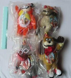 Banana Splits Set Of 4 - Large soft toys - Faulty do not sing