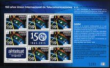 Uruguay 2015 UIT UIT telecomunicazioni satellite spaziale Space piccolo arco MNH