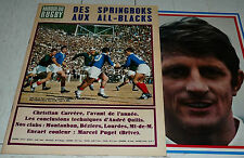 MIROIR RUGBY N°74 1967 PHOTO PUGET XV FRANCE BEGLES CARRERE LOURDES MONT BEZIERS