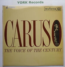 ENRICO CARUSO - Caruso The Voice Of The Century - Ex Con LP Record RCA RB 6523