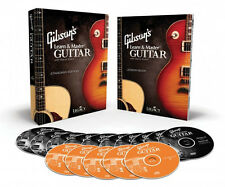 Gibson's Learn and & Master Guitar - 10 DVDs BOOK CDs Instruction 000321113