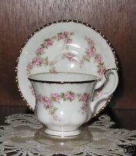 Royal Albert DIMITY ROSE Cup/Saucer, New