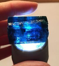 153 Ct~ Large Gem Indicolite Blue Tourmaline Crystal ~ Afghanistan