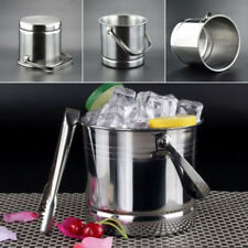 1L capacity Stainless Steel Ice Bucket Bar Beer Cooler Wine Champagne Party