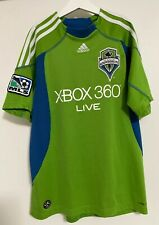2009 SEATTLE SOUNDERS FC XBOX 360 Live YOUTH Climacool Soccer Jersey Size Large