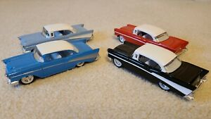 ERTL 1:43 1957 CHEVY (LOT OF 4 MODELS) INCLUDES SPECIAL EDITION FOR TOYS R US