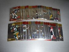 2011 Topps Finest Football Base Veteran, Rookie and Insert (65 card lot )
