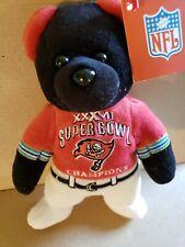 TAMPA BAY BUCCANEERS BEAN BAG BEAR, NFL TEAM, SUPER BOWL. New Licensed product.