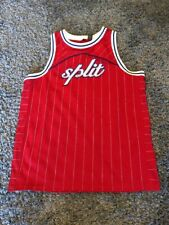 Split Clothing Basketball Men's Jersey - Sz S Red Rcp