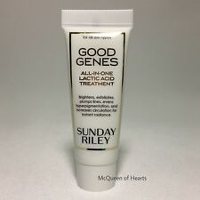 SUNDAY RILEY Good Genes All in One Lactic Acid Treatment New Travel Size 10ml