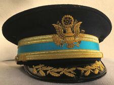 US Army Officer M1912 Dress Blue Cap for Infantry Field Grade Officer 7 3/8