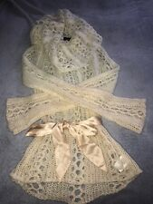 Bebe Sweater With Satin Belt Size S