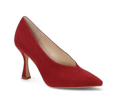 Vince camuto ishani Red suede size 8