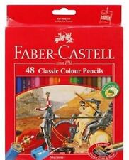 Faber-Castell  48  Classic Color Pencils in Box Set of Art Drawing Sketching